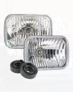 Narva 72026 H4 200 x 142mm 12V 60/55W High/Low Beam Free Form Halogen Headlamp Conversion Kit