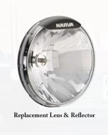 Narva 74095 Ultima 225 Broad Beam Driving Lamp Replacement Lens and Reflector