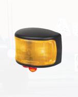 Hella LED Supplementary Side Marker Lamp Amber 12/4V CAB Marker Black