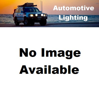 LED Autolamps 80CAR Double Series Stop/Tail/Indicator Combination Lamp - Chrome (Blister Single)