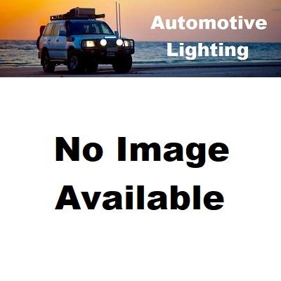 Britax LED Amber Beacon 10-30V 30Watt Flexi Pole Mount Silicone Base, Amber lens